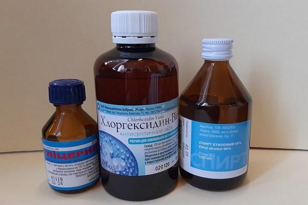 Антисептик из хлоргексидина
