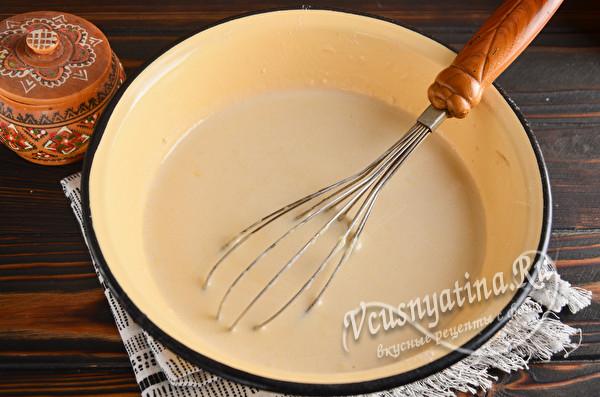 блинное тесто