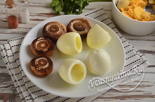 пустые белки и грибы
