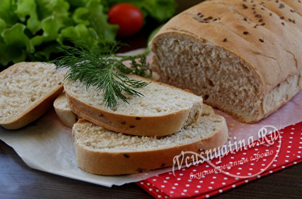 Диетический хлеб