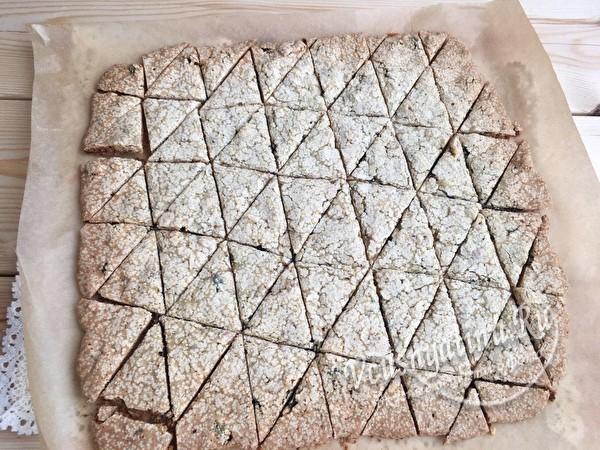 разрезать печенье