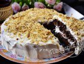 бисквитный торт «Негр в пене»