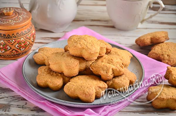 постное печенье на рассоле от огурцов