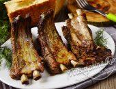 Свиные ребра в фольге в духовке