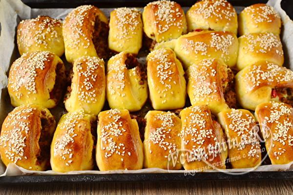 запеченные булочки
