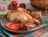 Курица с хрустящей карамельной корочкой