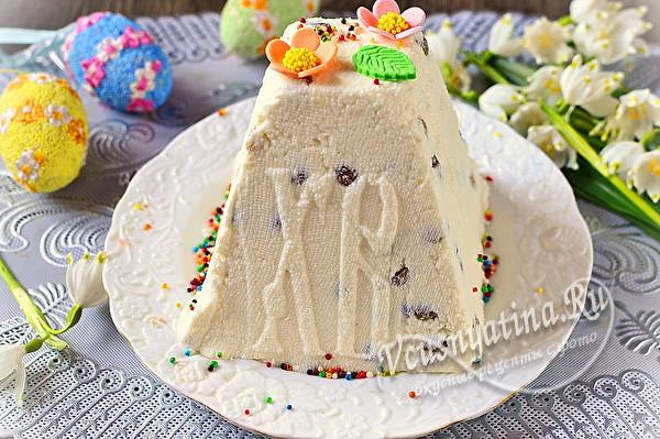 """Пасха """"Творожное мороженое пломбир"""