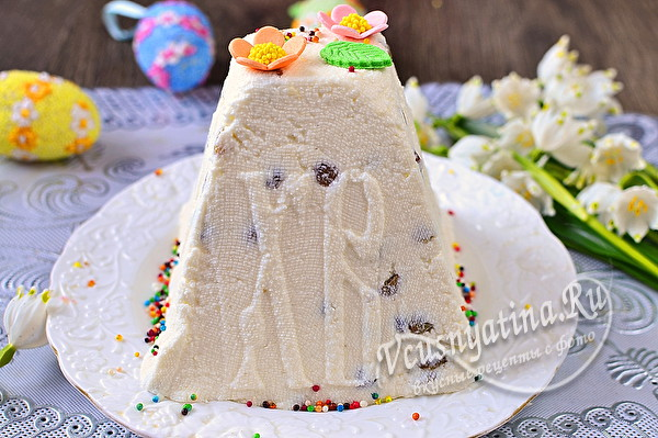 пасха ос вкусом мороженого