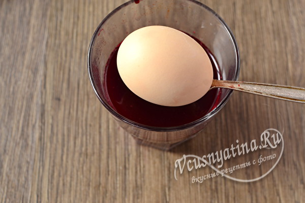 горячее яйцо
