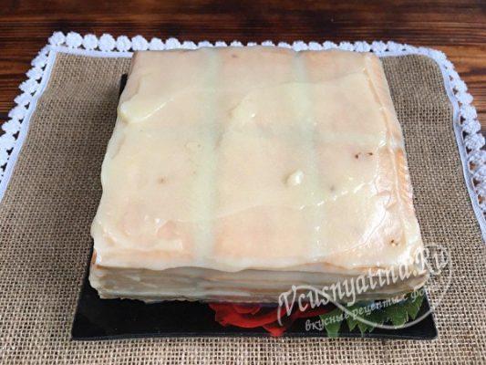 собрать тортик