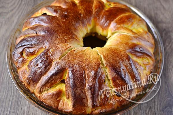 запеченный пирог