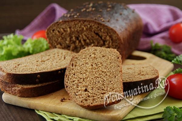 Бородинский хлеб в домашних условиях