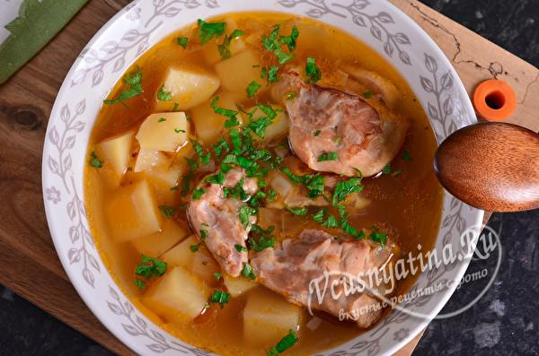Бозартма из курицы по-азербайджански - самый вкусный суп