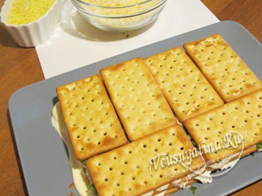 слой крекера