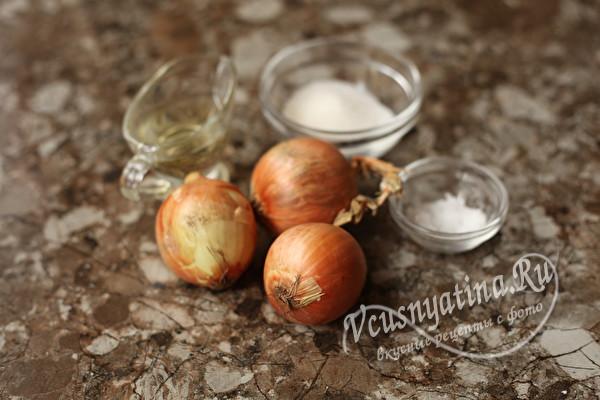 Маринованный лук к шашлыку или салату
