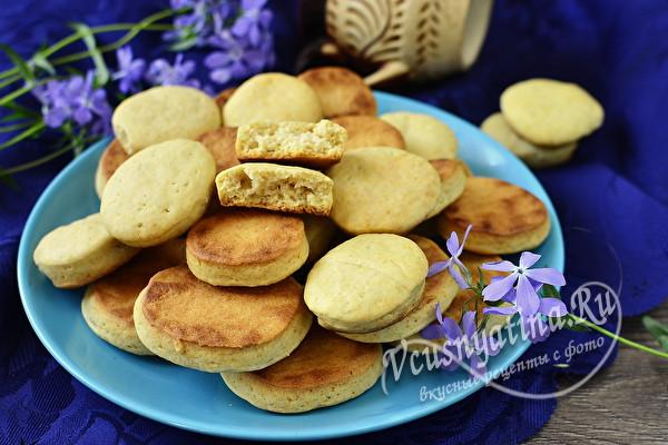 мягкое печенье на рассоле