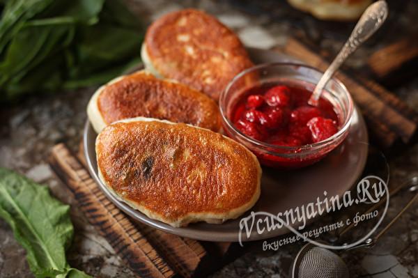 Кислятки – вкусные жареные пирожки со щавелем
