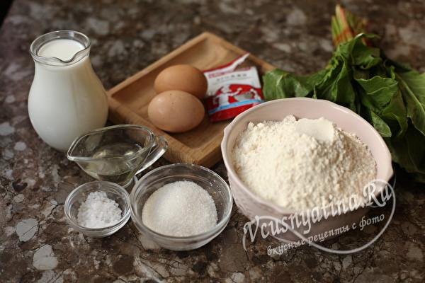 Пышные и мягкие пирожки со щавелем в духовке