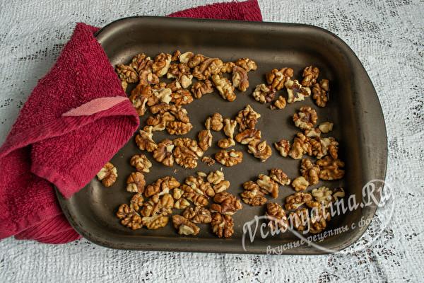 подсушить орехи