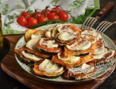 Кабачки в сырном кляре на сковороде