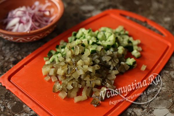 Обалденный салат из баклажанов к шашлыку