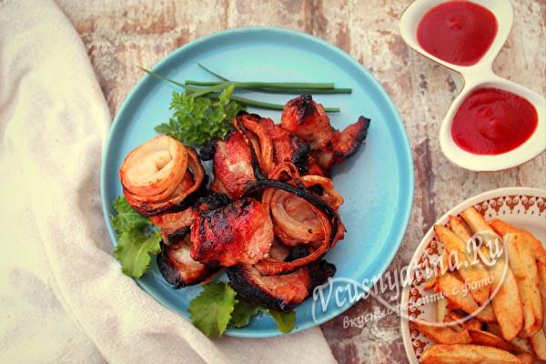 Сочный и мягкий свиной шашлык в томатном соке