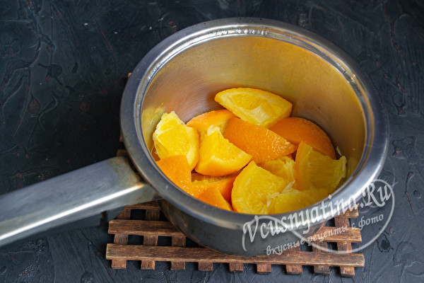 апельсин в кастрюльке