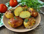 Как запечь картошку с корочкой