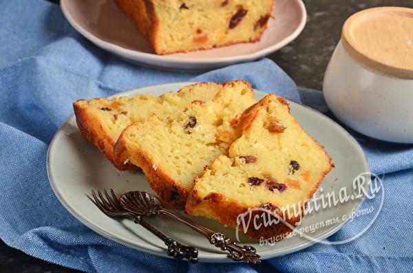 Творожный кекс - проще и вкуснее сырников