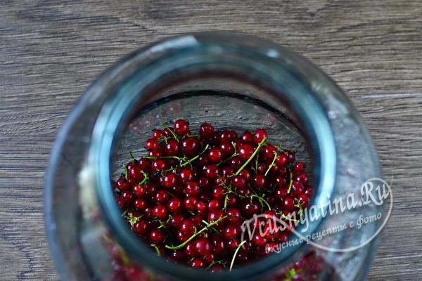 Компот из красной смородины с мятой на зиму – рецепт на 3 литровую банку