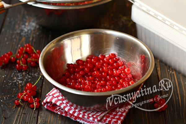 Как заморозить красную смородину на зиму – 3 способа заморозки