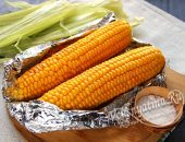Запеченная кукуруза в фольге
