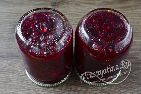 Пятиминутка из красной смородины на зиму - простой рецепт