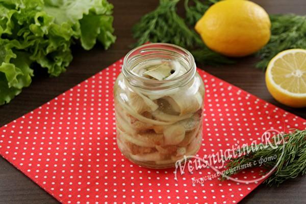 Малосольная селедка быстрого приготовления - вкус обалденный