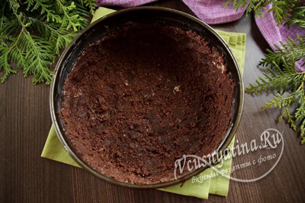 Королевская шоколадная ватрушка в духовке
