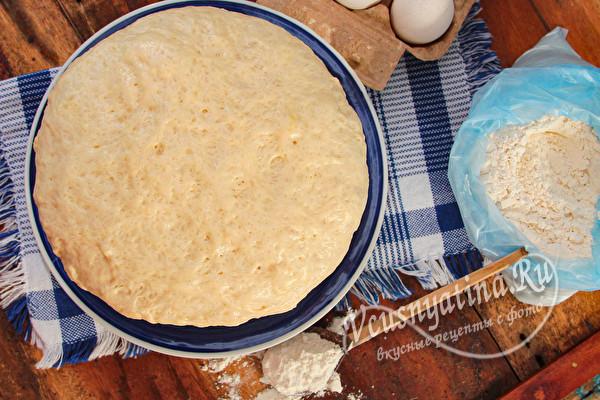 тесто на пирожки без опары