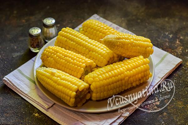 готовая кукуруза