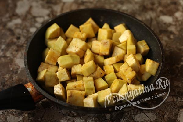 """Жареные баклажаны """"Чудо блюдо"""" со вкусом грибов"""