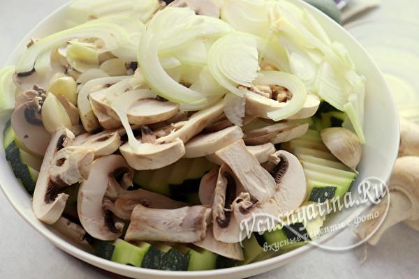 Салат из кабачков с грибами на зиму - вкуснотища