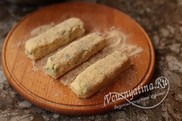 Картофельные палочки с сыром – настоящее объедение