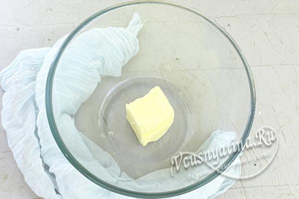 Творожный крем со сгущенкой для торта и эклеров