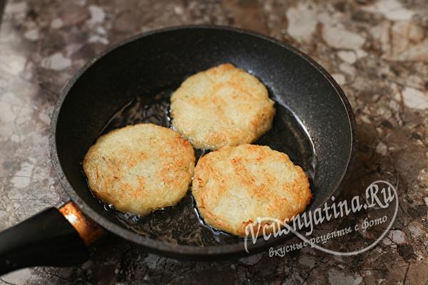 Настоящие картофельные драники без муки и яиц