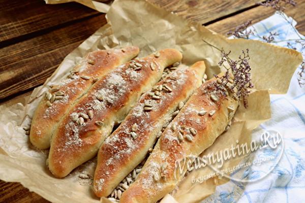 Дрожжевые мини батоны – вкусно вместо хлеба