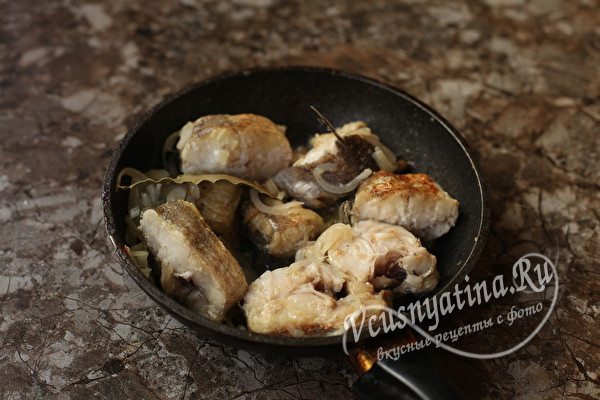 Самый нежный и вкусный минтай на сковороде