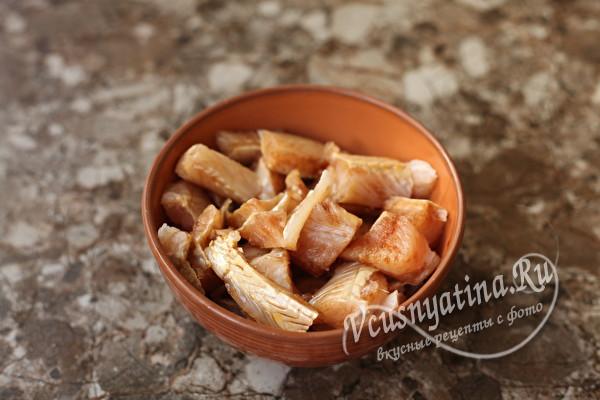 Запеченный минтай в лаваше - вкусный как роллы