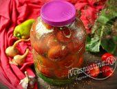 Квашеные помидоры с горчицей холодным способом