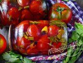Маринованные помидоры с сельдереем на зиму
