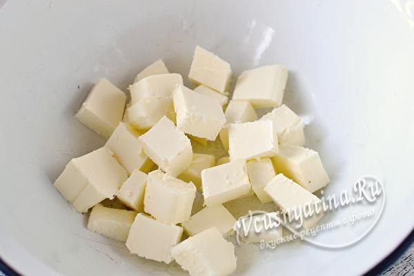 Заварной крем-пломбир на сметане для торта или пирожных