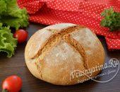 Хлеб домашний ржаной дрожжевой в духовке