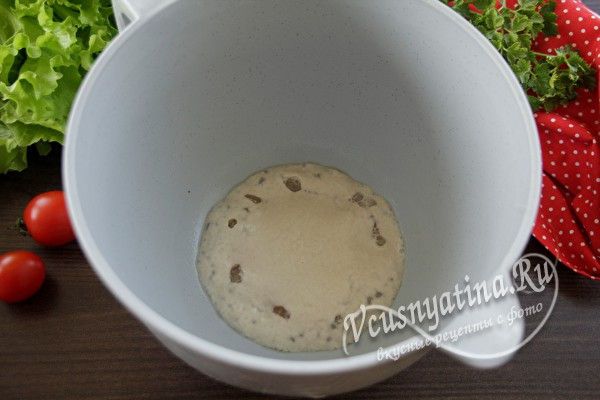 Хлеб ржаной домашний в духовке